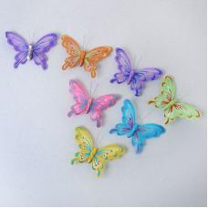 """Декор """"Бабочки"""" на прищепке 3"""
