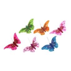 """Декор """"Бабочки"""" на прищепке 6"""
