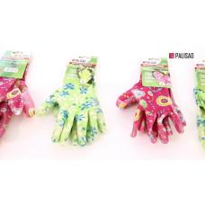 Перчатки с нитриловым покрытием 67743